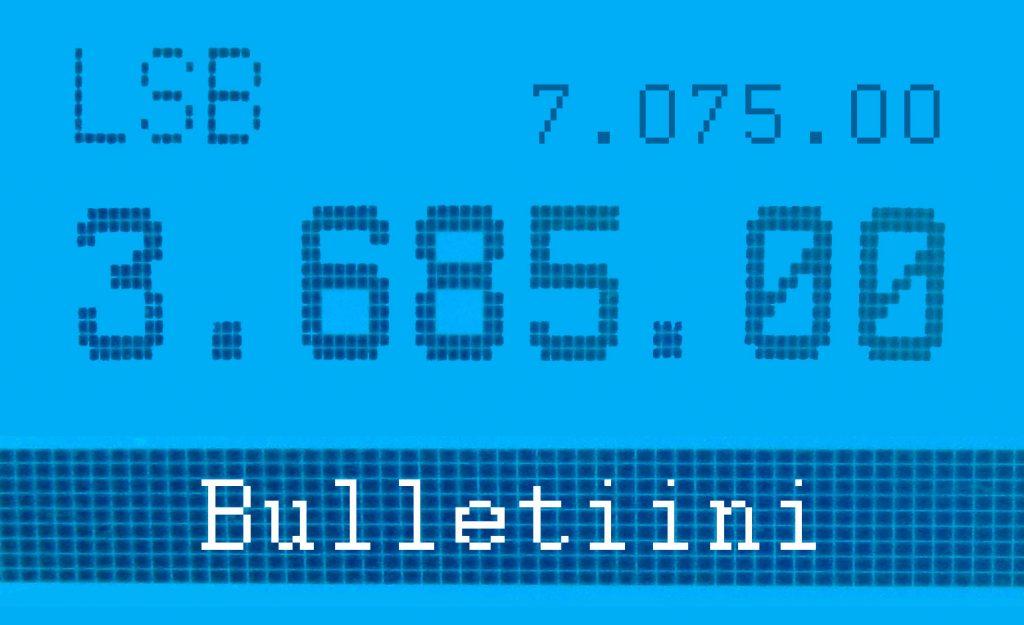 Bulletiinitaajuudet ovat 3685 kHz ja 7075 kHz.