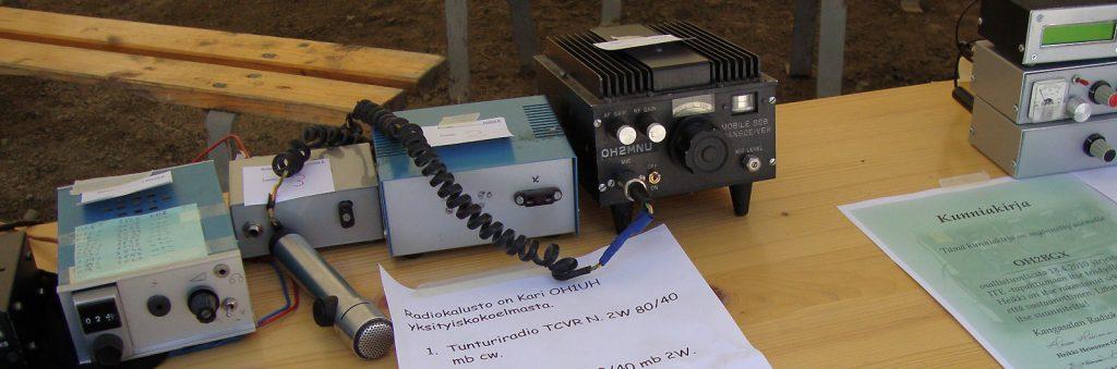 Radiolaitteita