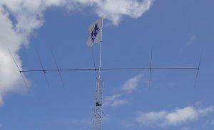 Antenni ja SRAL:n lippu