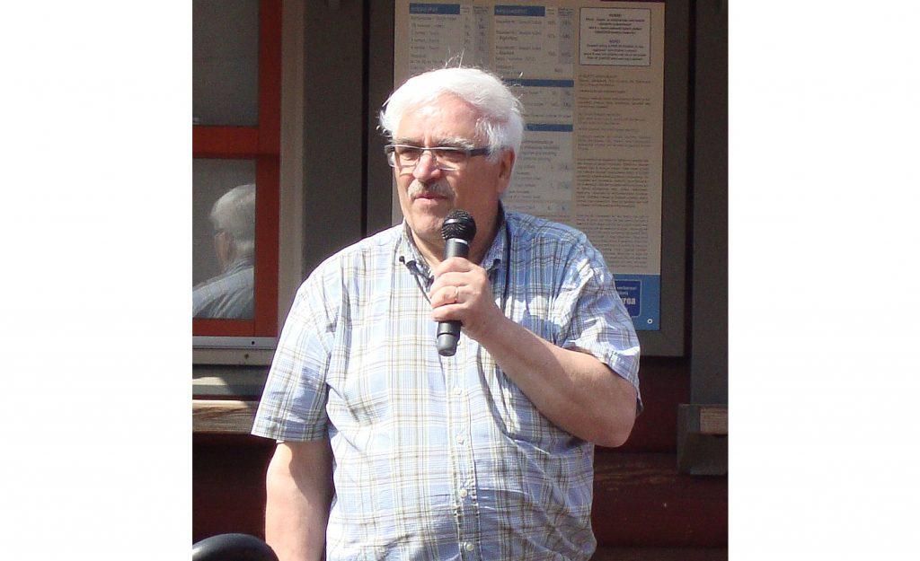 Henri Olander, OH3JR, Sappeen kesäleirillä.