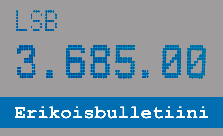 Suomen Radioamatööriliiton 100-vuotisjuhlavuoden erikoisbulletiini luetaan 2.1.2021 taajuudella 3685 kHz.