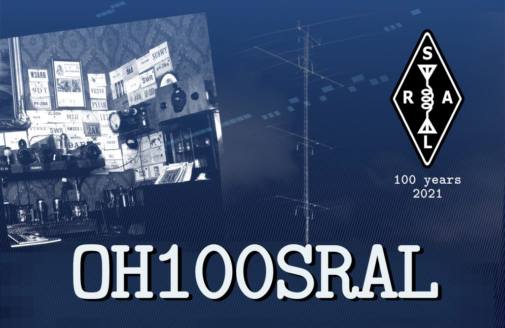 OH100SRAL QSL